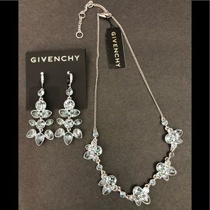 Givenchy earrings and necklace set